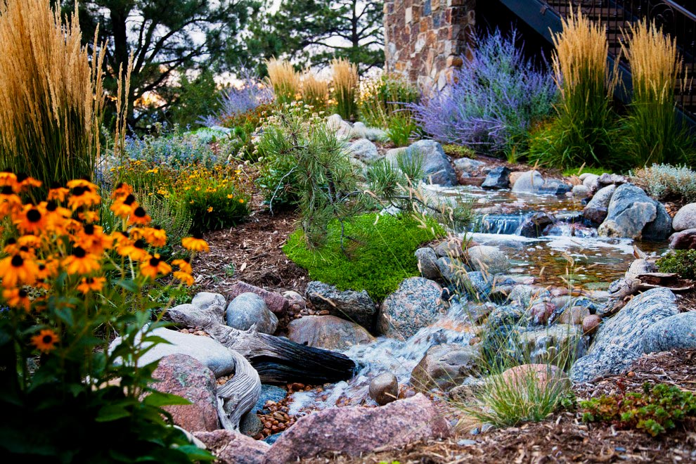 Colorado Golf Club Water Feature